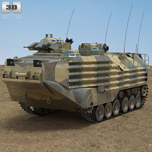 AAV-7 - 3DOcean Item for Sale