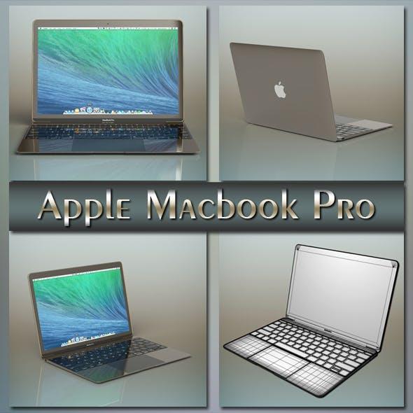 Apple macbook pro - 3DOcean Item for Sale