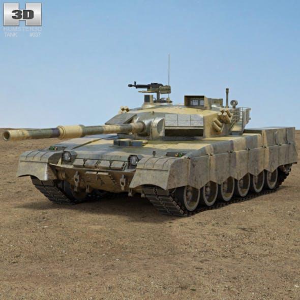 Al-Khalid MBT-2000 - 3DOcean Item for Sale