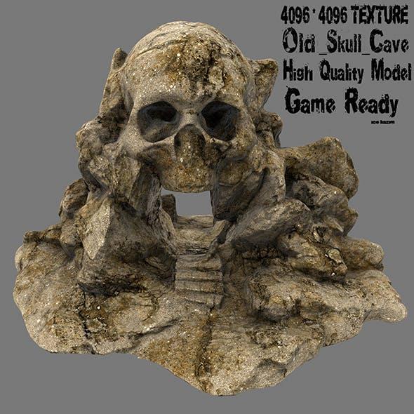 skull cave 27 - 3DOcean Item for Sale