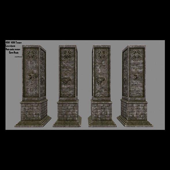 pillar 18 - 3DOcean Item for Sale