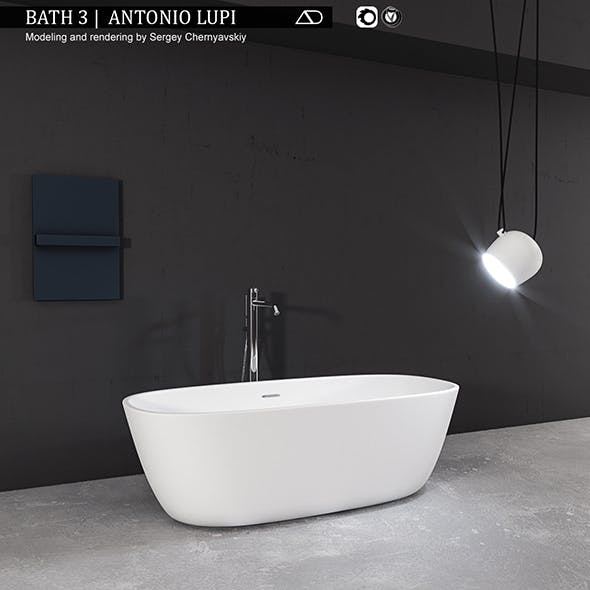 Bath 3 Antonio Lupi - 3DOcean Item for Sale