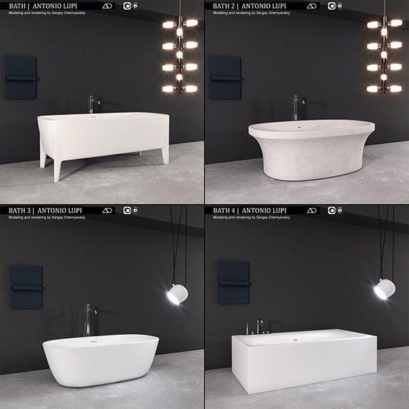 Bath collection 1 Antonio Lupi