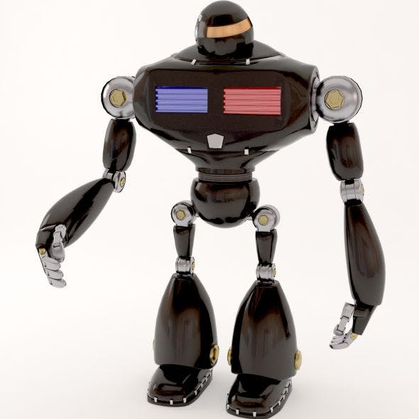 police robot - 3DOcean Item for Sale