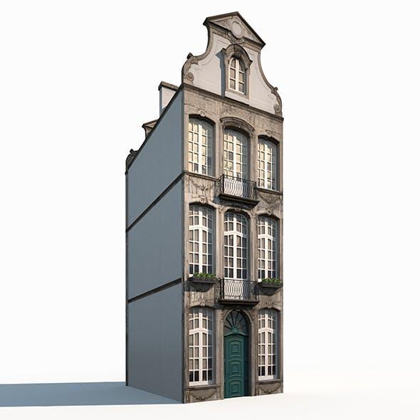 Buildings Facade 181 Low Poly