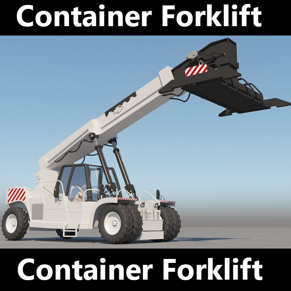 Container Forklift - 3DOcean Item for Sale