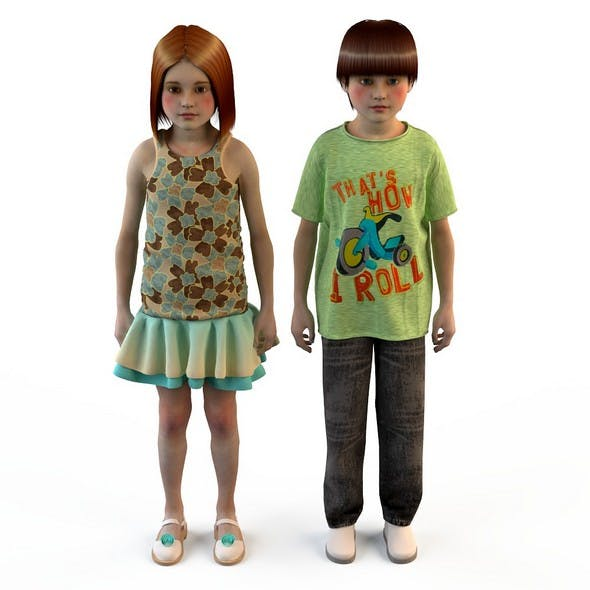 Edit children's clothes for girls boy ( t-shirts , jeans )