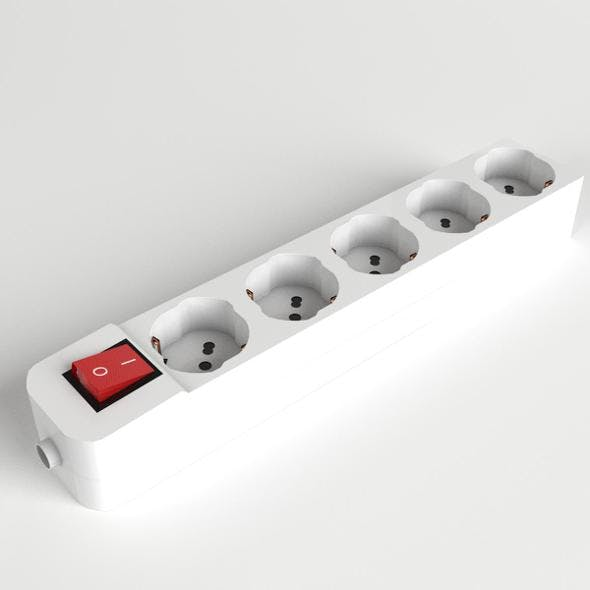 Schuko Power Strip 1