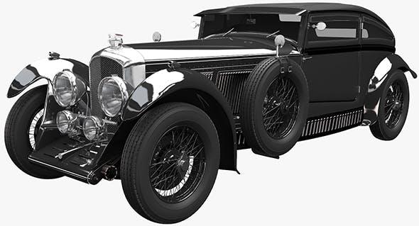 Bentley Blue Train - 3DOcean Item for Sale