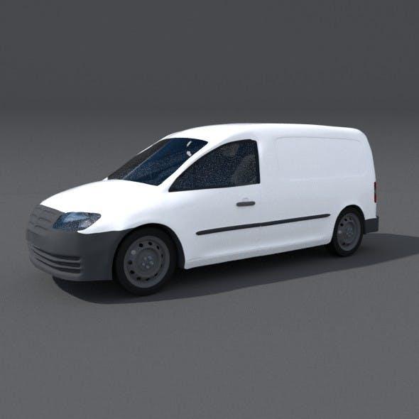 Courier Delivery Van