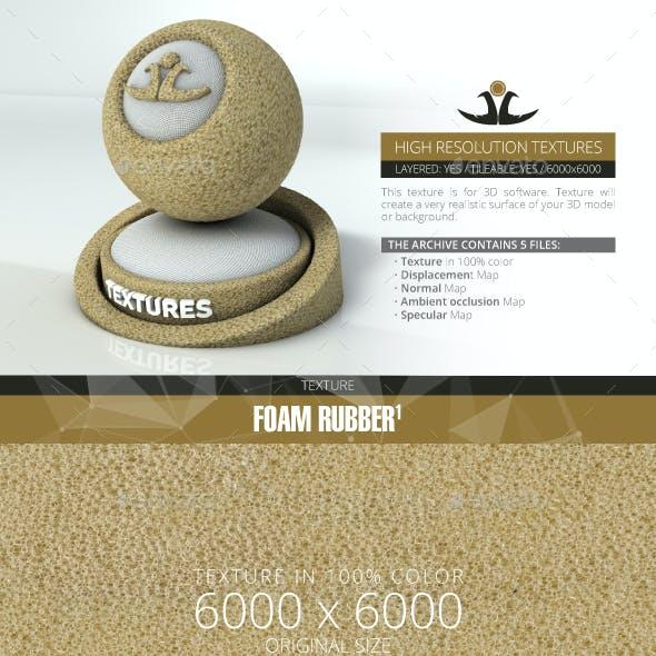 Foam Rubber 1