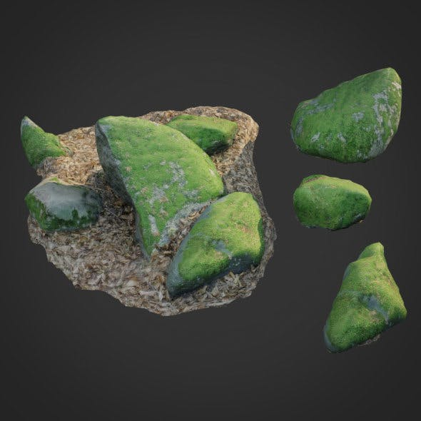 nature stone 007 - 3DOcean Item for Sale
