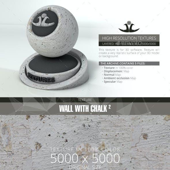 Wall With Chalk 2