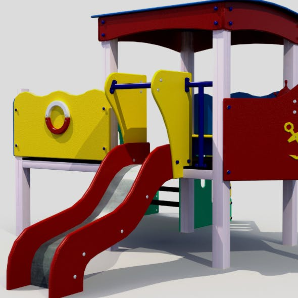 Children slide - 3DOcean Item for Sale