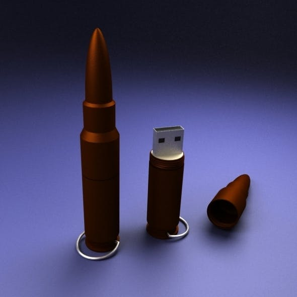 USB Flash Drive - 3DOcean Item for Sale
