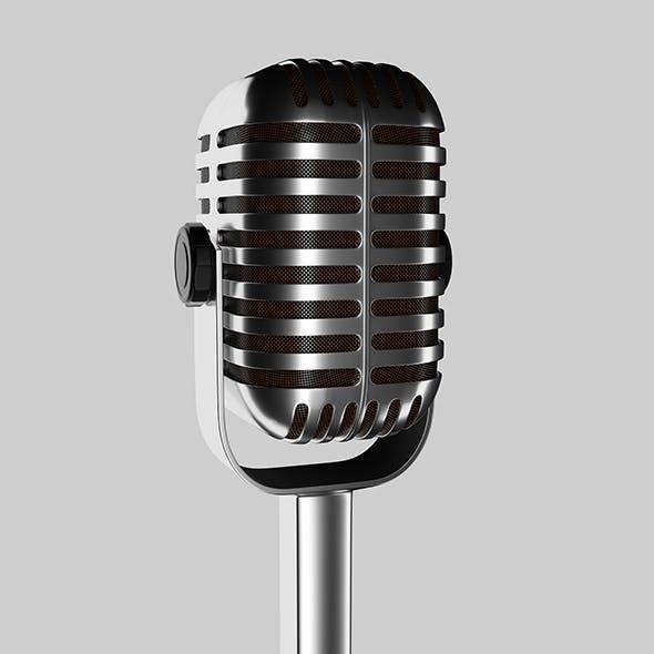 Studio microphone - 3DOcean Item for Sale
