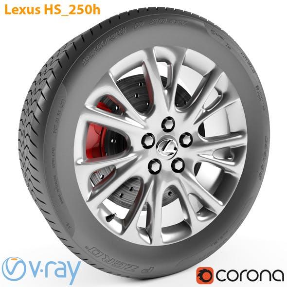 Lexus HS 250h Wheel