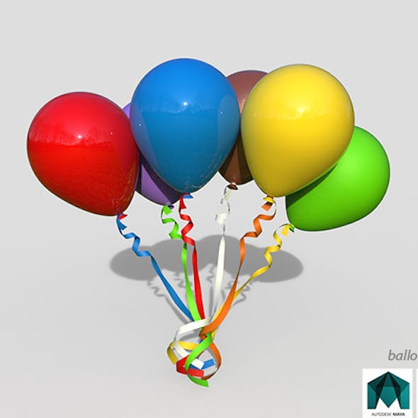Balloons are