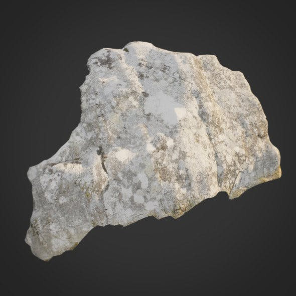 3d scanned nature stone 013
