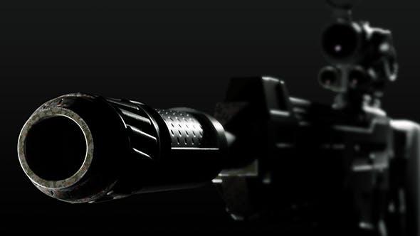 Machine gun weapon - 3DOcean Item for Sale