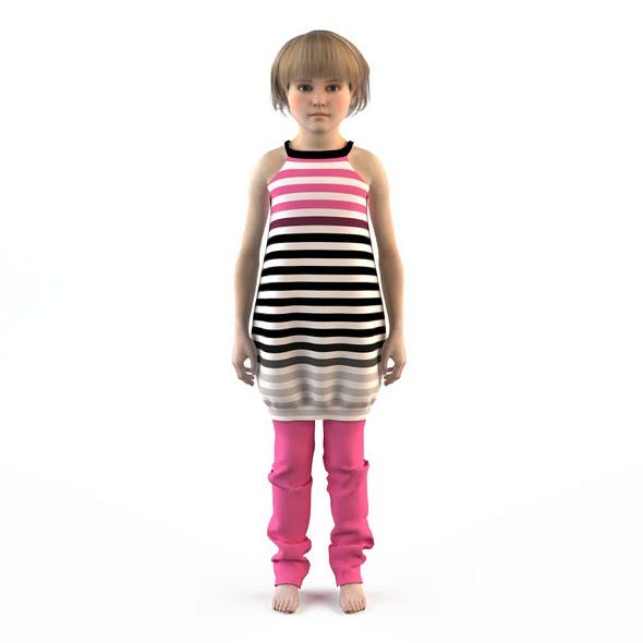 Girl dress t shirt skirt Baby clothes