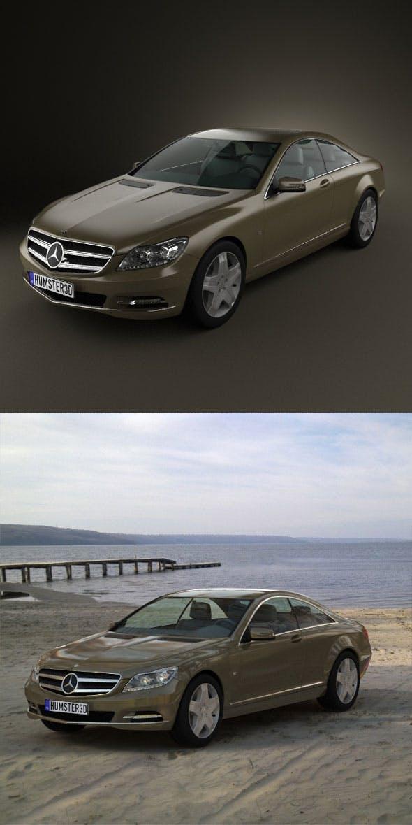 Mercedes-Benz CL 2011  - 3DOcean Item for Sale