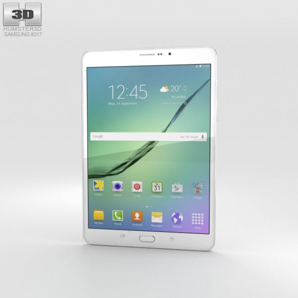 Samsung Galaxy Tab S2 8.0-inch LTE White - 3DOcean Item for Sale