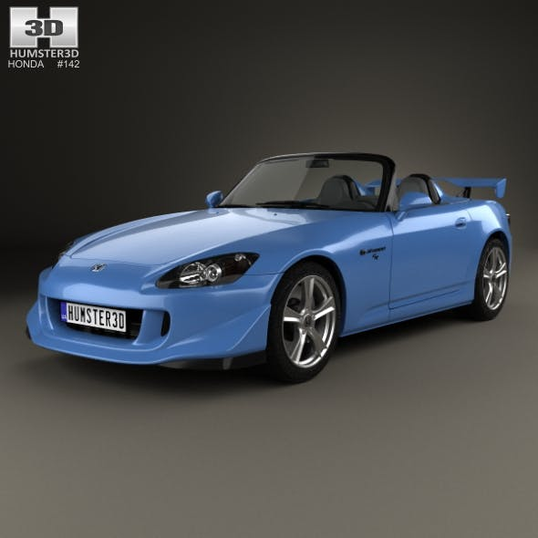 Honda S2000 CR 2008 - 3DOcean Item for Sale