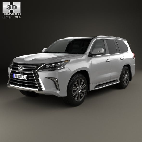Lexus LX 2016 - 3DOcean Item for Sale