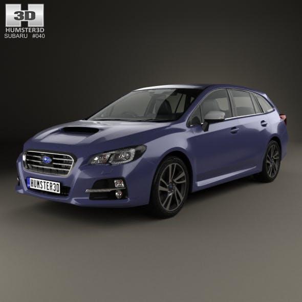 Subaru Levorg 2015 - 3DOcean Item for Sale