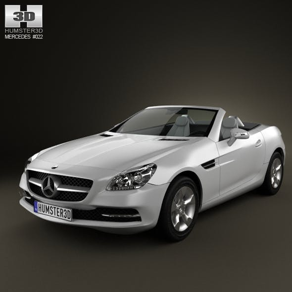 Mercedes-Benz SLK 2012 - 3DOcean Item for Sale