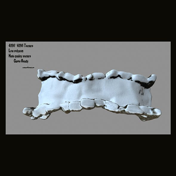 old bridge 03 - 3DOcean Item for Sale