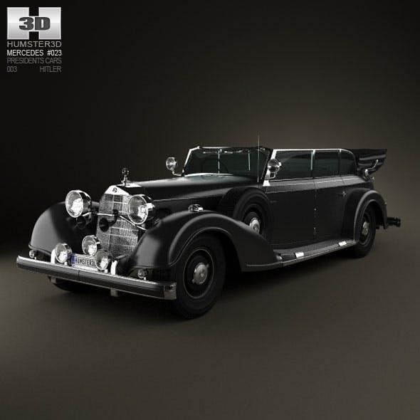Mercedes-Benz 770K 1936 Hitler