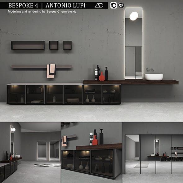 Bathroom furniture set Bespoke 4 - 3DOcean Item for Sale