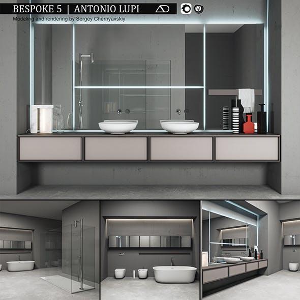 Bathroom furniture set Bespoke 5 - 3DOcean Item for Sale