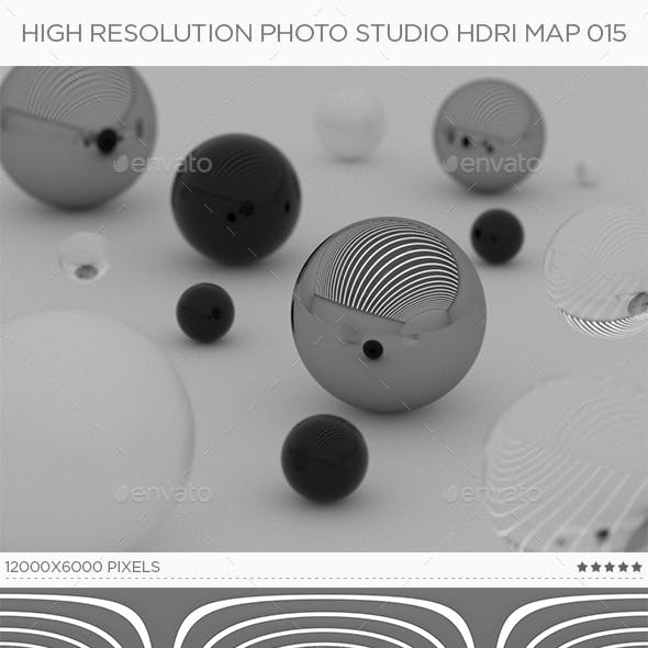 High Resolution Photo Studio HDRi Map 015
