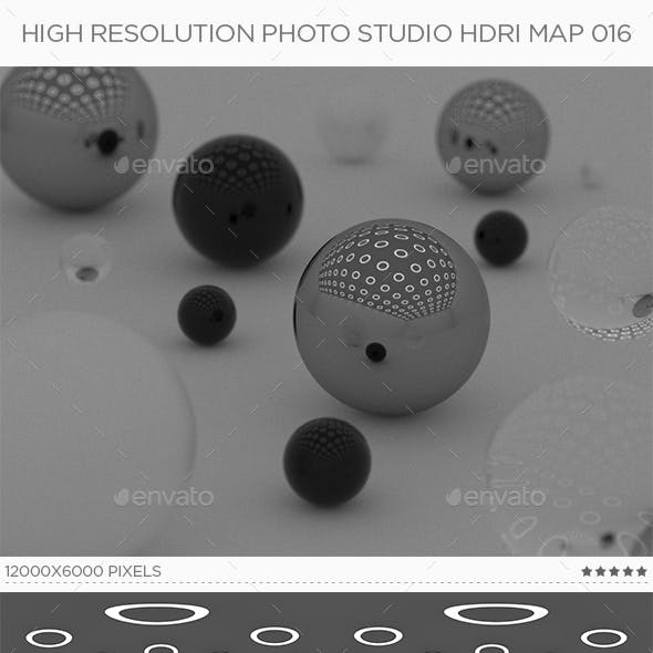 High Resolution Photo Studio HDRi Map 016
