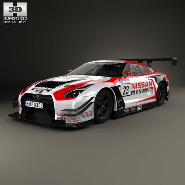 Nissan GT-R Nismo GT300 2015 - 3DOcean Item for Sale