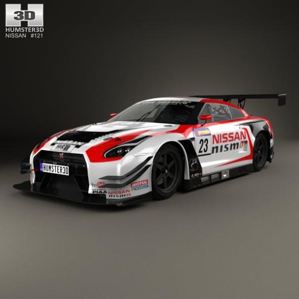 Nissan GT-R Nismo GT300 2015 - 3DOcean Item for Sale