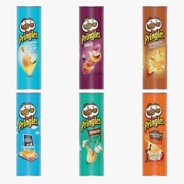 Pringles Potato Chips - 3DOcean Item for Sale