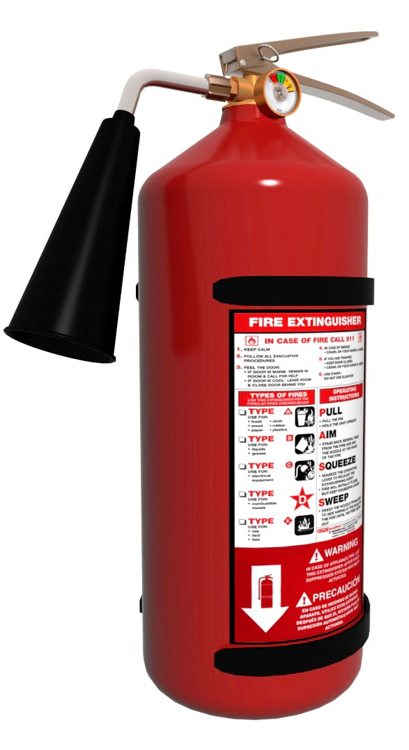 Fire Extinguisher - 3DOcean Item for Sale