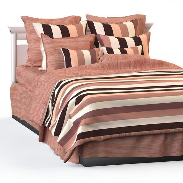 Double bed blanket pillow bedding