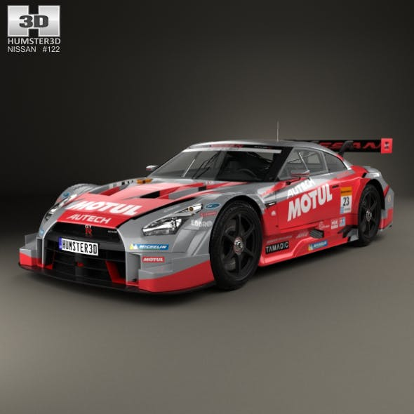 Nissan GT-R Nismo GT500 2015 - 3DOcean Item for Sale