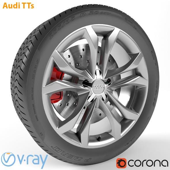 Audi TTs Wheel - 3DOcean Item for Sale
