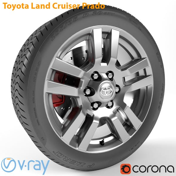 Toyota Land Cruiser Prado Wheel