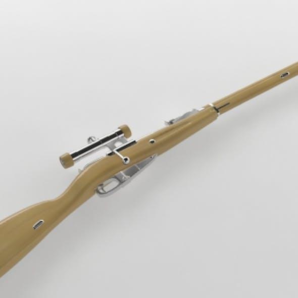Mosin Nagant Sniper Rifle