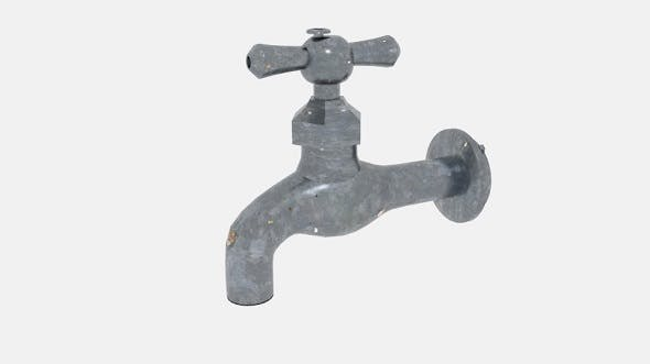 Traditional Water Faucet Tapwater - 3DOcean Item for Sale