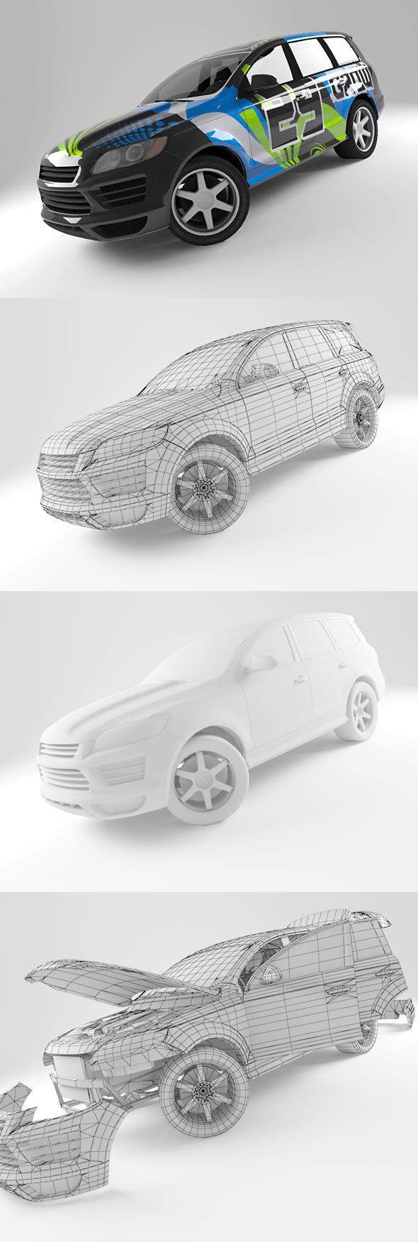 Car A7 - 3DOcean Item for Sale