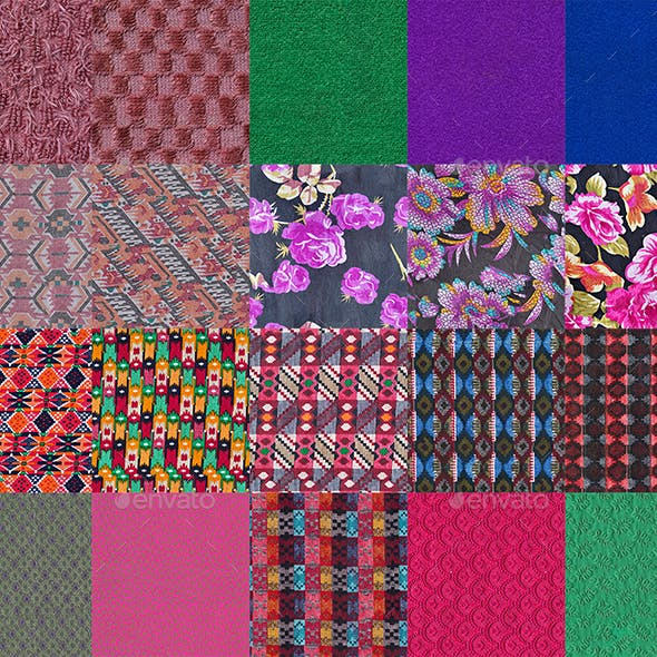 50 Tileable Fabric Texture Pack