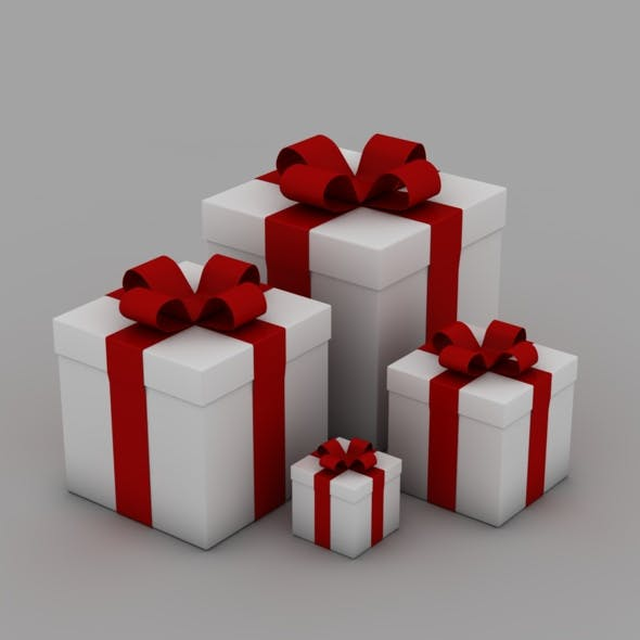 3D Presents - 3DOcean Item for Sale